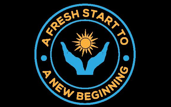 A Fresh Start to a New Beginning Logo